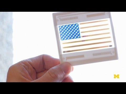 Solar-powered color   MconneX   MichEpedia