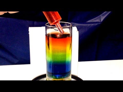 Easy Water Stacking Sugar Density Experiment ~ DIY Incredible Science