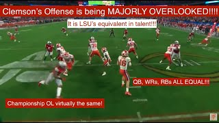 Why Clemson's Offense may be LSU's EQUAL!!