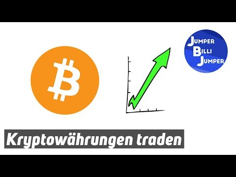 Bitcoin und Kryptowährungen Traden Tutorial - Schritt für Schritt