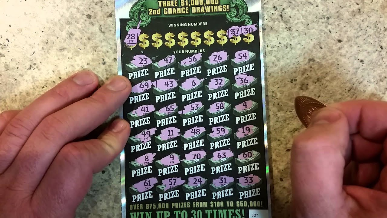 NC Ultimate Millions $30 scratch off!