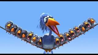 """Веселый мультик от PIXAR """"Птички на проводе"""" Мультфильм в хорошем качестве."""