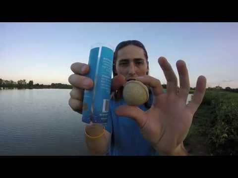 Baitcloud Fish Attractant Product Review in Action (Bass)