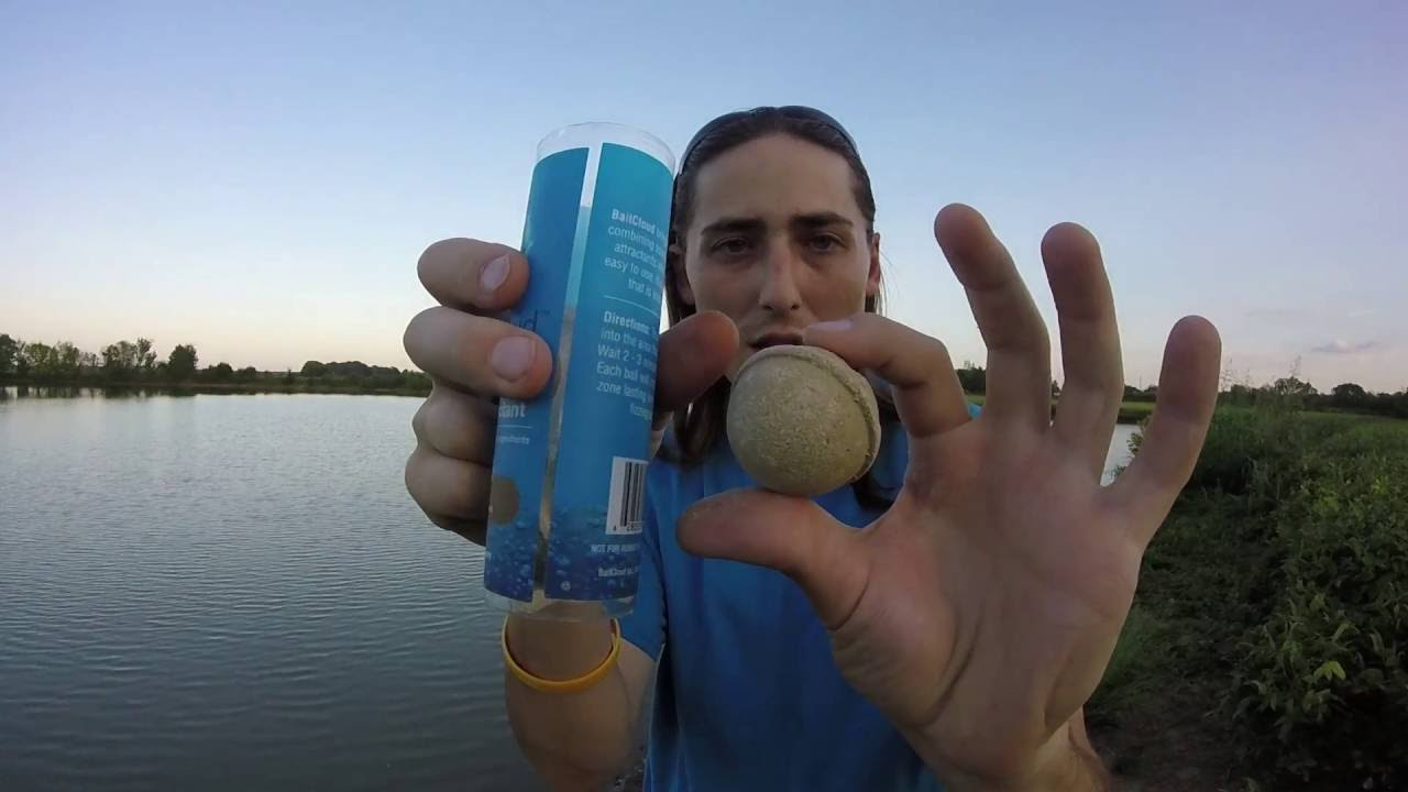Baitcloud fish attractant product review in action bass for Baitcloud fish attractant