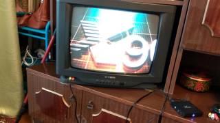 Подключение андроид бокс X96 к старому кинескопному телевизору.