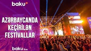 Azərbaycanda keçirilən festivallar