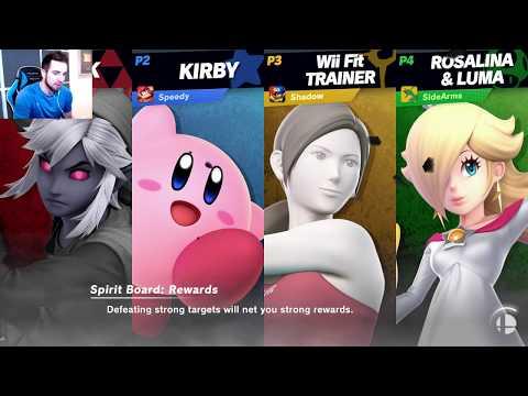 BayoNUTa BOOTY! - Super Smash Bros Ultimate with The Crew!