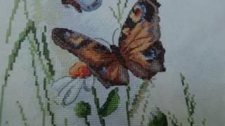 Вышивка крестом. Марья Искусница. Луговые цветы.