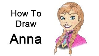 How to Draw Anna from Frozen