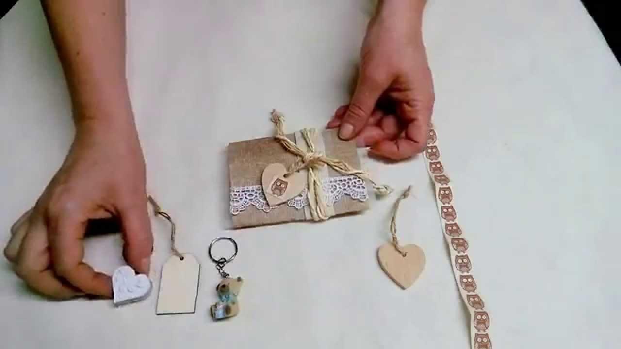 Favoloso Bomboniera matrimonio fai da te, comunione, cresima o battesimo  XK22