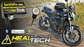 Download Video HealTech QuickShifter Easy (iQSE) Install on Yamaha FZ1 MP3 3GP MP4