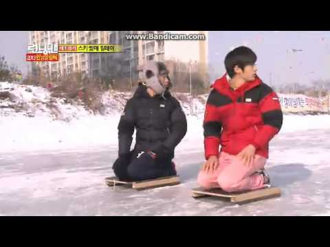 running man ep.129 raching on ice