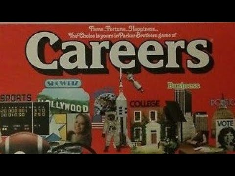 Ep 148: Careers Board Game Review (Parker Brothers 1955)