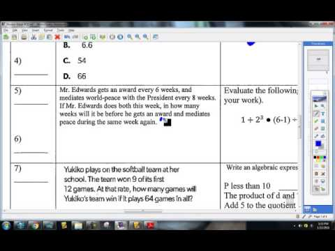 Download Review Sheet #18 Quick Video