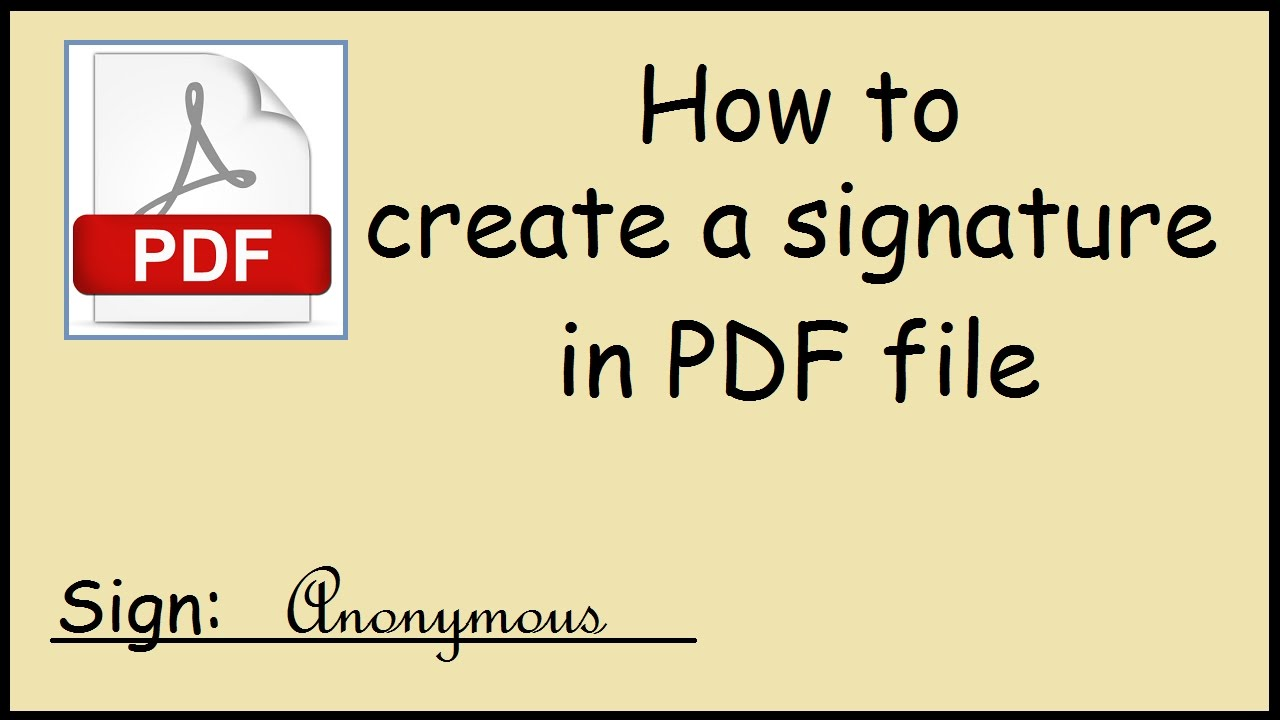 How To Electronically Sign A Pdf Document On Windows 10