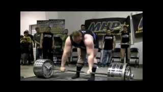 Мировой рекорд становой тяги - Бенедикт Магнуссон