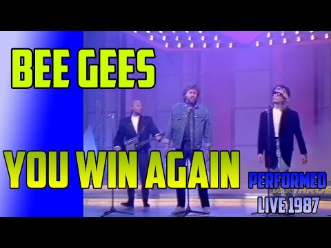 BEE GEES You Win Again - Performed in UK TV  Show - UPSCALE 1080p Full-HD