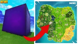 THE CUBE IS MOVING...  NEW MAP SOON?! // New Fortnite Update // Fortnite Battle Royale Gameplay