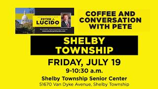 Sen. Lucido to host Coffee Hours on July 19