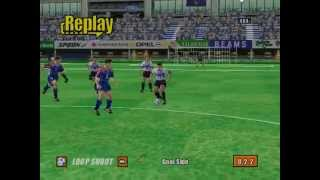Virtua Striker 2 - Top 5 Goals - 642 Points - HD