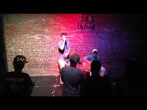 JD Askin and Jacob Kogan at the Nuyorican Poets Cafe