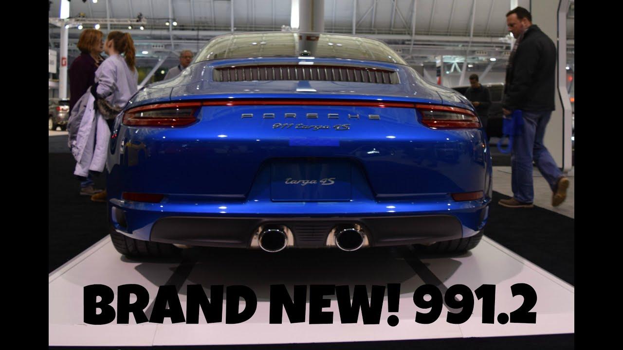 2017 Porsche 911 Targa 4s Details Youtube