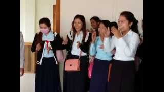 Khmer sign language រៀនសញ្ញា គថ្លង់ខ្មែរ