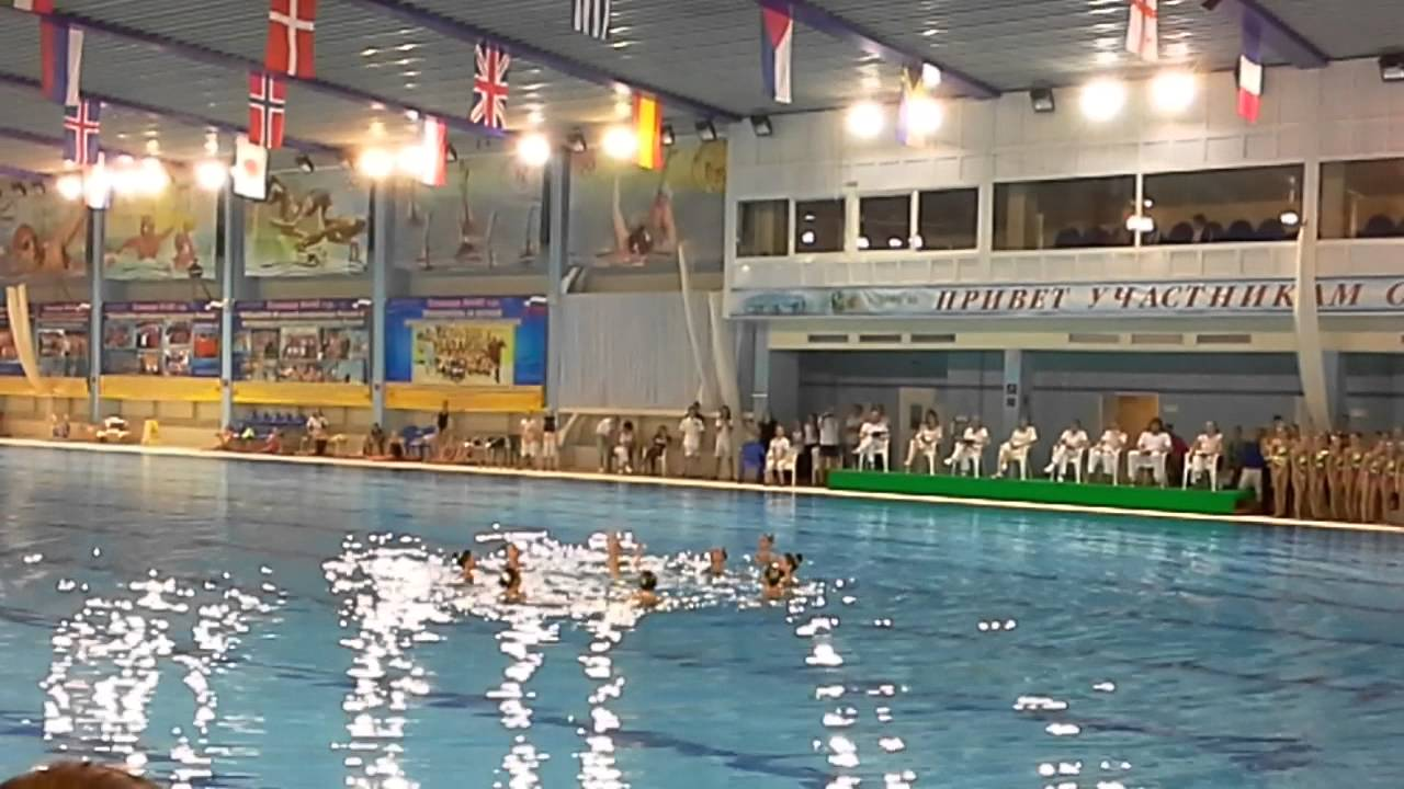 Синхронное плавание Чехов