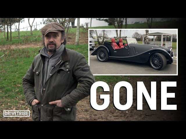 One of Richard Hammond's favourite cars has been destroyed