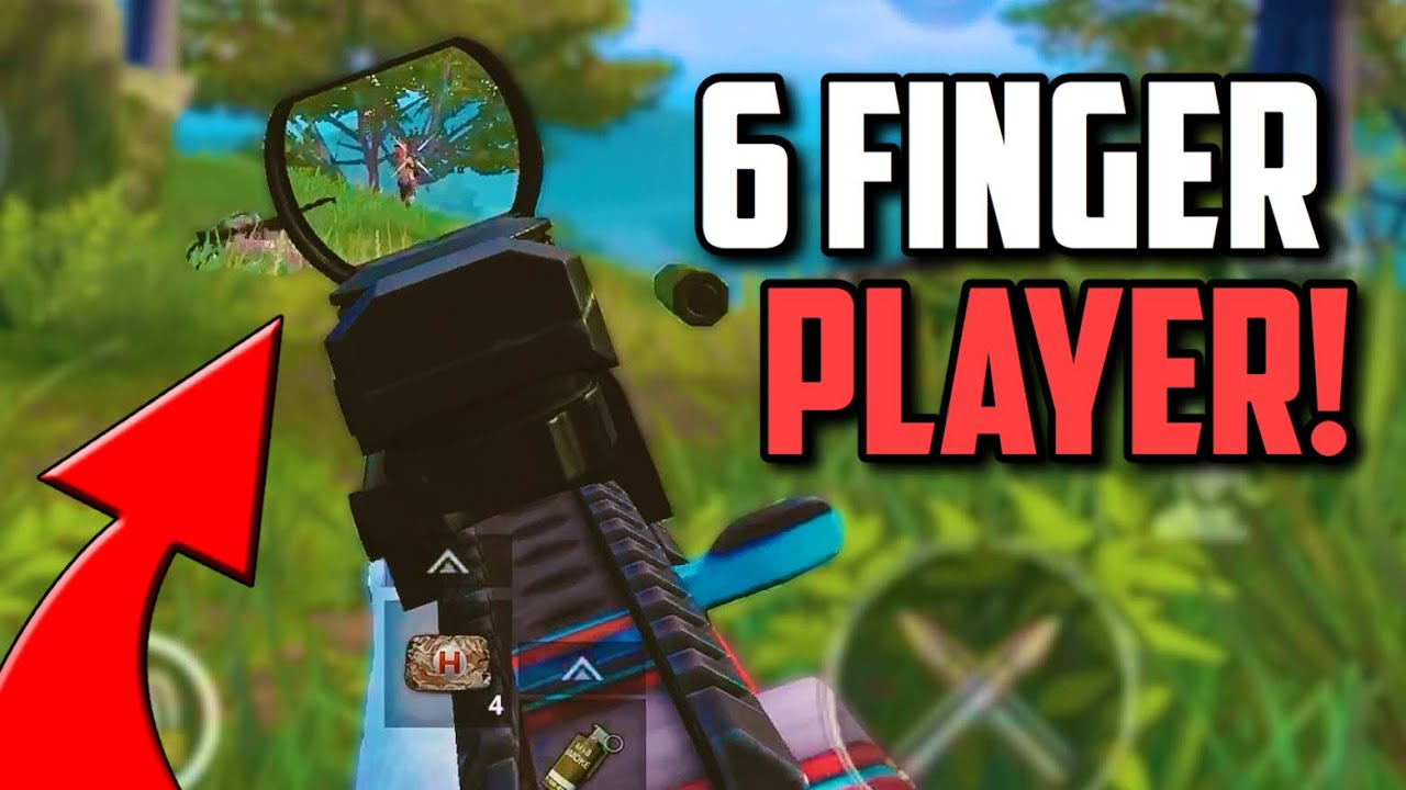 SIX FINGER claw player SOLO SQUADS in Asia! | PUBG Mobile