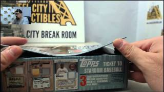 2014 Leaf Best of Baseball Unopened Edition LIVE Box Break