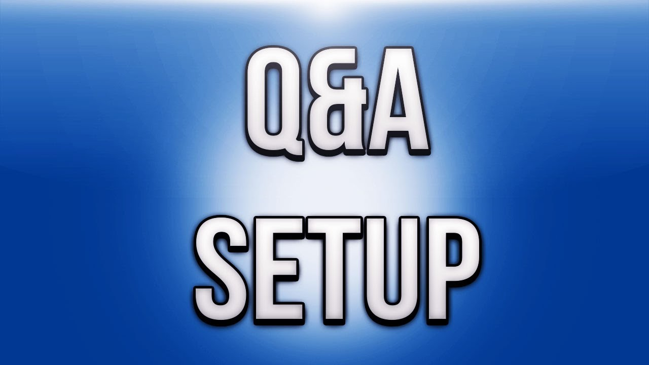 Ask H2O Delirious Questions!