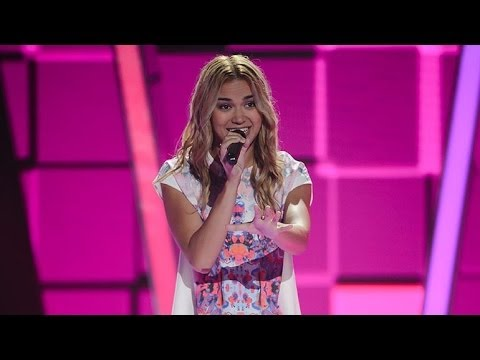 Fely Irvine Sings We Found Love | The Voice Australia 2014