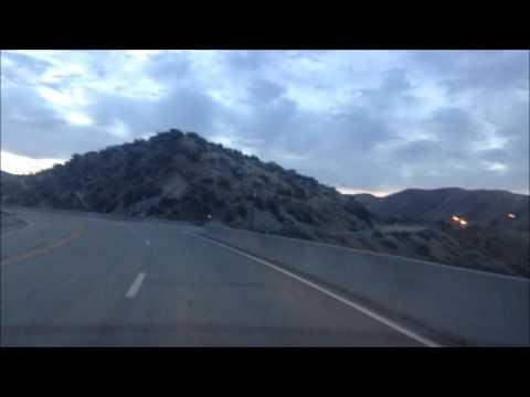 Drive: Boise to Idaho City; Idaho; One day before fire closed Hwy 21