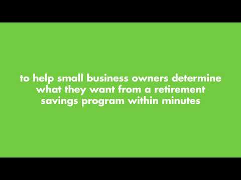Find The Best Retirement Plan For Your Small Business With The Retirement Savings Selector Tool