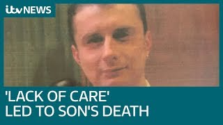 'Hospital failed him' says father after son's suicide | ITV News