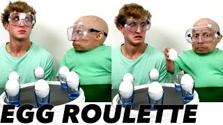 Egg Roulette Challenge: Verne Troyer vs Logan Paul