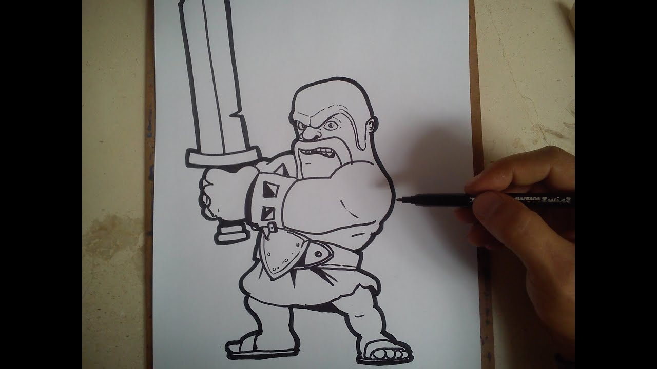 CLASH OF CLANS / How To Draw