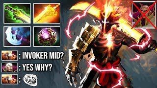 NEW EPIC SHOTGUN MAGIC Juggernaut Counter Invoker Mid Ether Blast Blade Fury Crazy Game WTF Dota 2