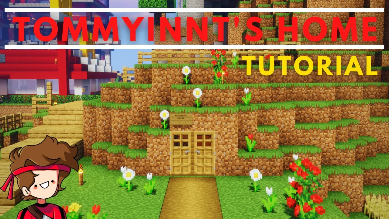 How to Build TommyInnit's Home (Dream SMP Tutorial)