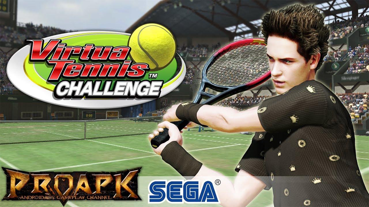 virtua tennis challenge gameplay android ios by sega. Black Bedroom Furniture Sets. Home Design Ideas