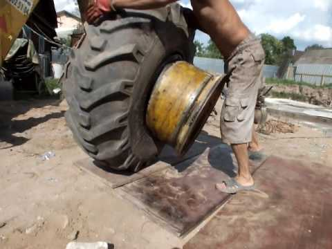 Разбортировать колесо своими руками видео фото 951