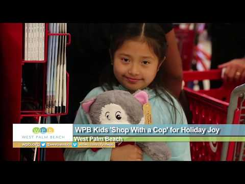 WPB Kids 'Shop With a Cop' for Holiday Joy