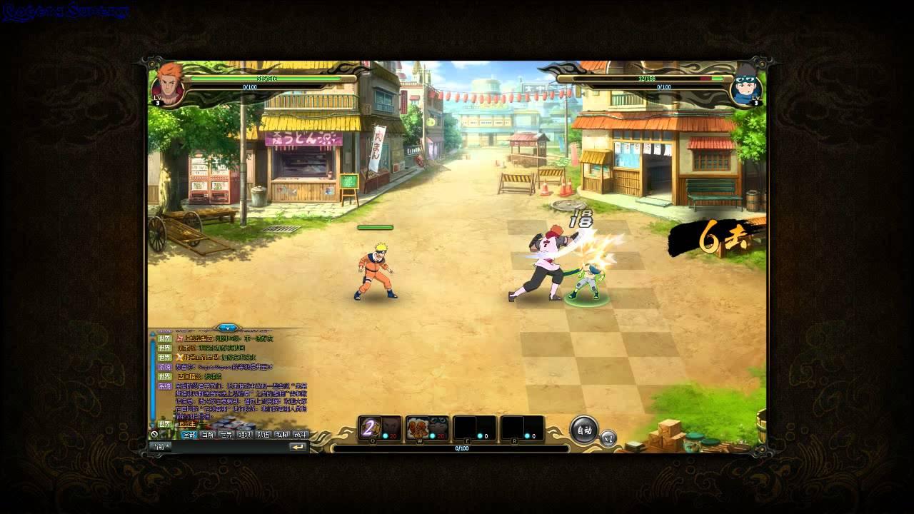 Naruto Online Browsergame