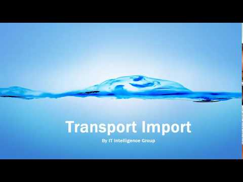 Transport Import