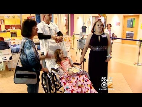 048f20cf2b046 Children's Hospital Holds Special Prom For Patients - YouTube