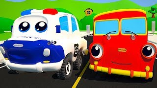 The Wheels on the Police Car | The Wheels on the Bus | The Wheels on the Truck from SmartBabySongs