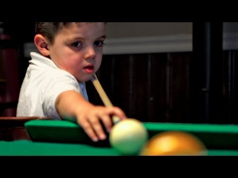 5-Yr-Old Pool Prodigy