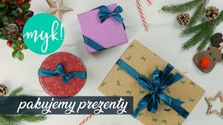 Ozdabiamy prezenty na trzy sposoby