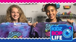 KIDZ BOP Life: Vlog # 19 - DIY Tie-Dye Crafts with Isaiah